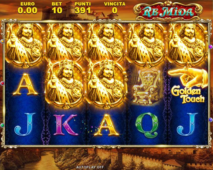 Re mida slot machine gratis