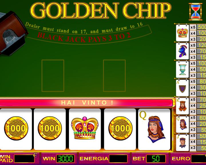 GOLDEN CHIP 4