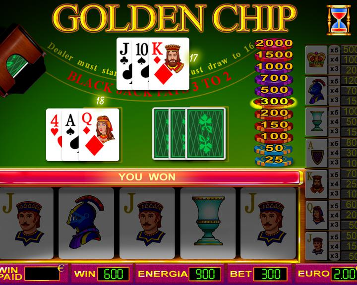 GOLDEN CHIP 3