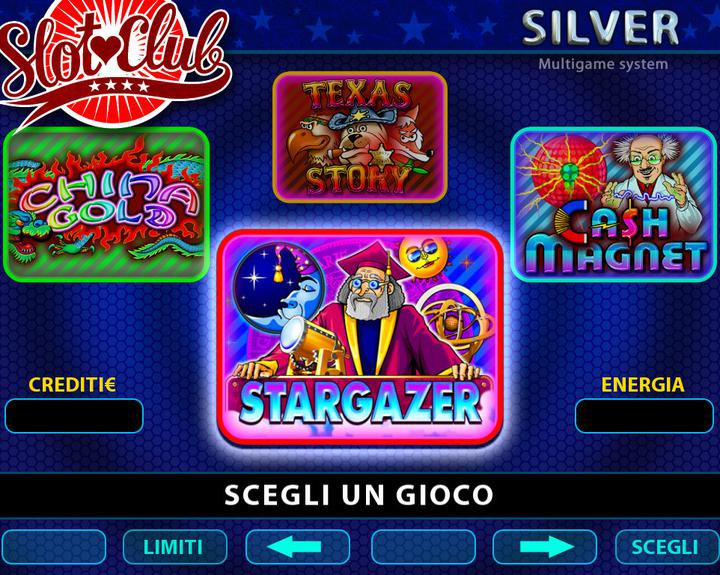 SLOT CLUB SILVER - MENU