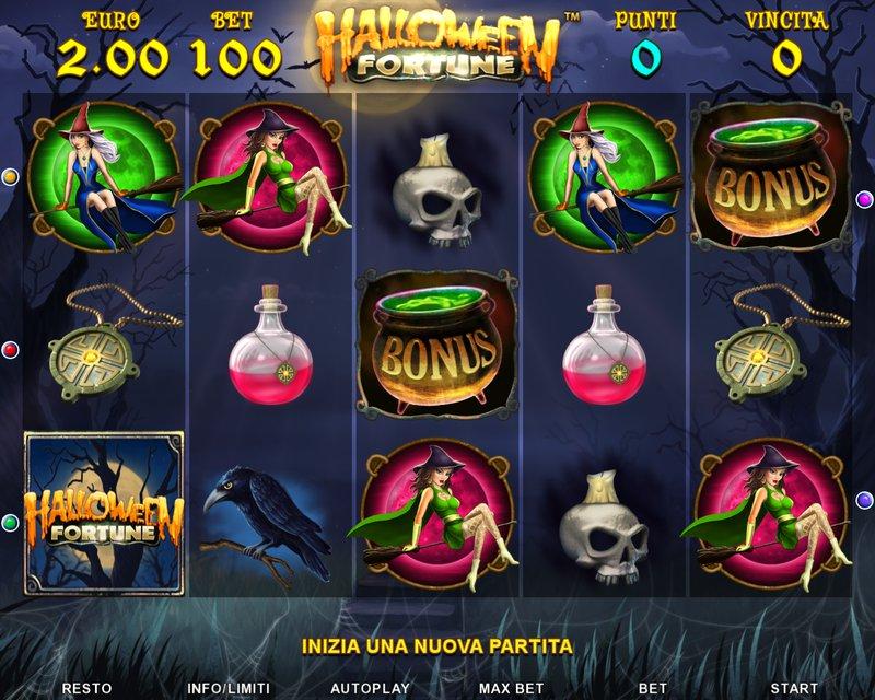 Безкоштовний гральний автомат halloween fortune Белогорск